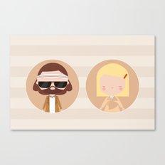 Margot & Richie  Canvas Print