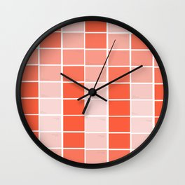 paint chips Wall Clock
