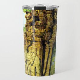 Threshold Guardian - Mythic Fantasy Travel Mug