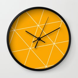 Pure Honey Wall Clock