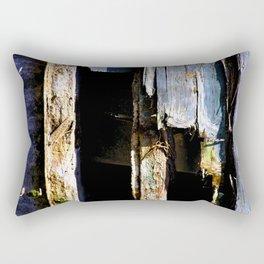 Battered House Boat 2 Rectangular Pillow
