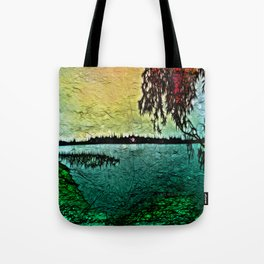 :: Lake View :: Tote Bag