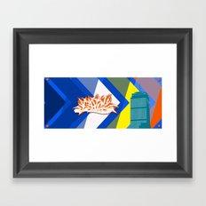 Beantown Graffiti Framed Art Print