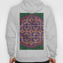 Song for Creativity - Traditional Shipibo Art - Indigenous Ayahuasca Patterns Hoody