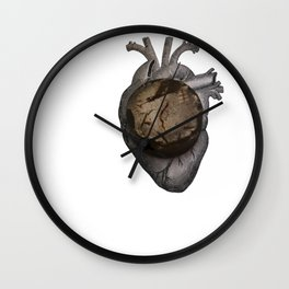 Hockey puck h Wall Clock