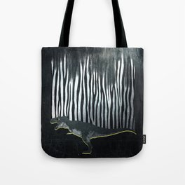 zebrex - the tyrex who wanted to become a zebra  Tote Bag