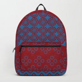 Japanese Style Bohemian Pattern Backpack