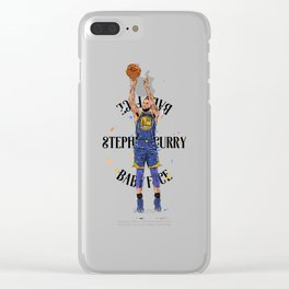 Stephen «Babyface» Curry Clear iPhone Case