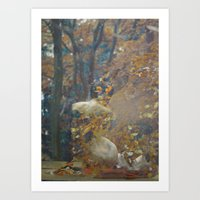 Integrated with love Art Print