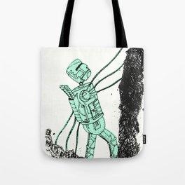 robot showbot Tote Bag
