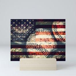 America's game Mini Art Print