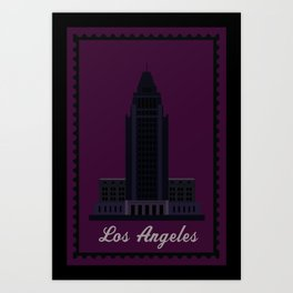 City Hall CA Art Print