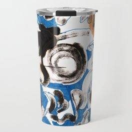 Blue Spot Travel Mug