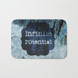 Infinite Potential Logo Bath Mat