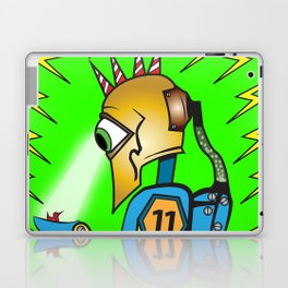 Invader of Earth Laptop & iPad Skin