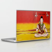 lama Laptop & iPad Skins featuring Dalí lama by Michelena