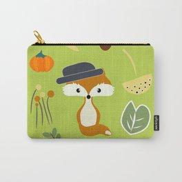 Cute fox in autumn II Carry-All Pouch