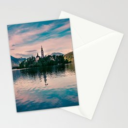 Lake Bled, Slovenia 2 Stationery Cards