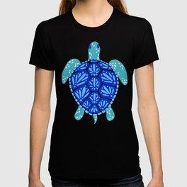 Sea Turtle – Blue Palette T-shirt