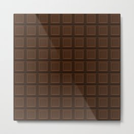 Milk Chocolate Metal Print