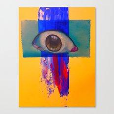 Third eye (waterfall) Canvas Print