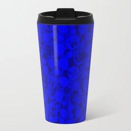 Abstract blue #Indigo #blue #Indigo blue #abstract Travel Mug