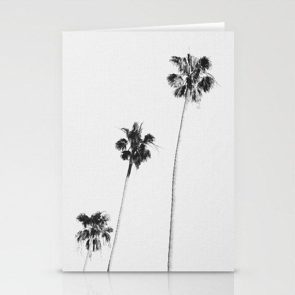 Black & White Palms Stationery Cards