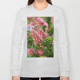 Aesculus red blossom cluster Long Sleeve T-shirt