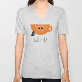 Guilt-tea Unisex V-Neck