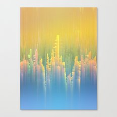Reversible Space / Imagiary Cities 19-02-17 Canvas Print
