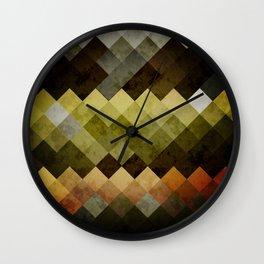 Abstract Cubes YBO Wall Clock