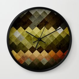 Abstract Cubes YBO Wall Clock
