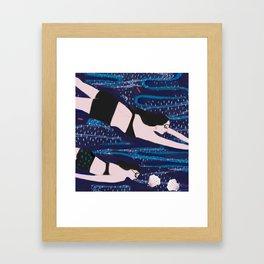Pearl Divers Framed Art Print
