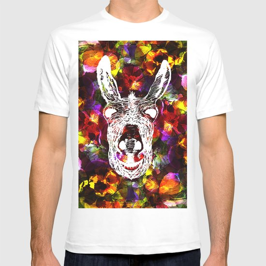 Wonky Donkey Flower  T-shirt