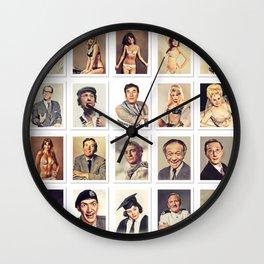 Carry On Stars Wall Clock