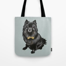 Ozzy the Pomeranian Mix Tote Bag