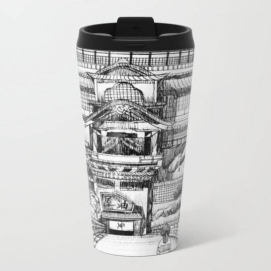 Spirited Away Bathhouse Metal Travel Mug