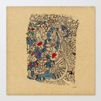 medieval Canvas Prints featuring - medieval - by Magdalla Del Fresto