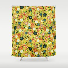 Flourishing Florals Shower Curtain
