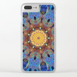 Mandala Energy Clear iPhone Case