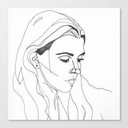 KING LYNN GUNN / PVRIS Canvas Print