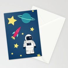 Space Objective Stationery Cards