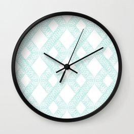 The Origin Of Diamonds Wall Clock