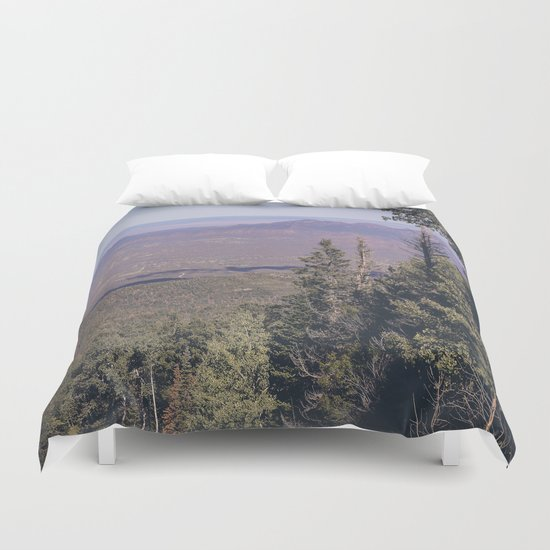 You Lost Me Here Duvet Cover