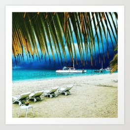 Beautiful Jamaica Art Print