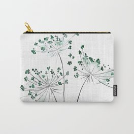 wild carrot watercolor Carry-All Pouch