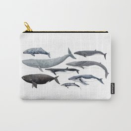 Whales and right whale Carry-All Pouch
