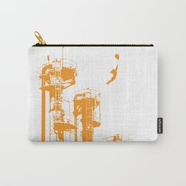 Factory Jump (orange) Carry-All Pouch