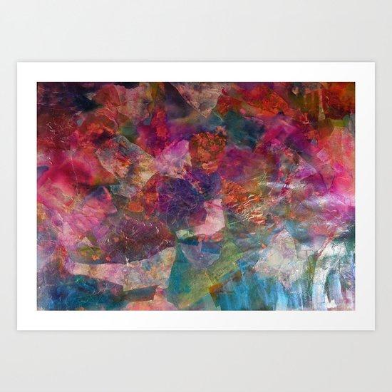 Colorist Art  Art Print