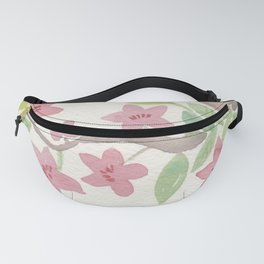 Bird in Blossoms Fanny Pack